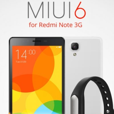MIUI 6 Redmi Note