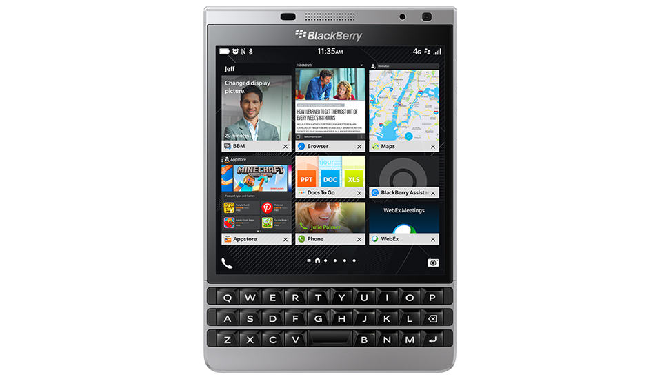 Blackberry Passport Silver
