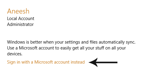 Sign In Microsoft Account`