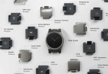 Blocks smartwatch parts