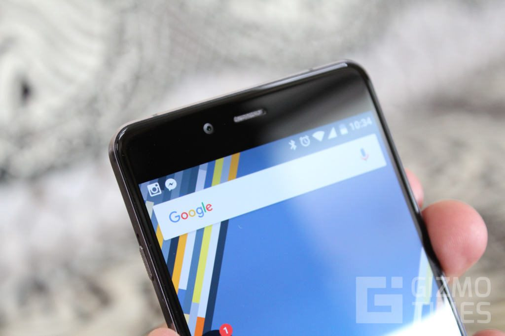 OnePlus X Front top