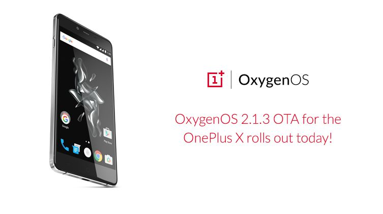 Oxygen OS 2.1.3 for OnePlus X