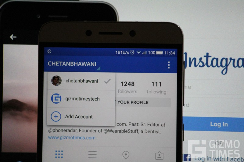 Instagram Multiple Accounts Switch