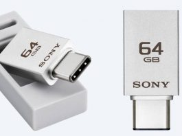 Sony OTG drive with USB Type C