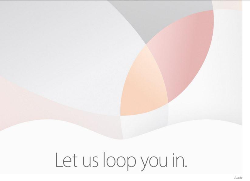 Apple iPhone SE March 21 launch event invite