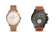 Fossil Q Tailor and Q Nate Smart Analog Movement watches