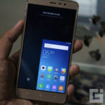 Xiaomi Redmi Note 3 One handed mode right