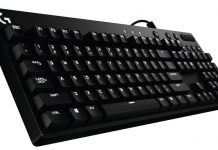 logitech G610 Orion keyboard