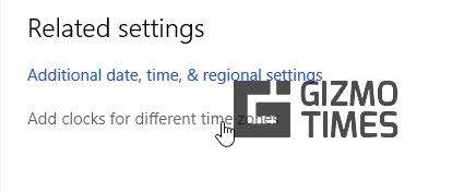 Choose Settings