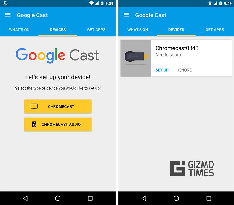 Chromecast-Setup-Android-App