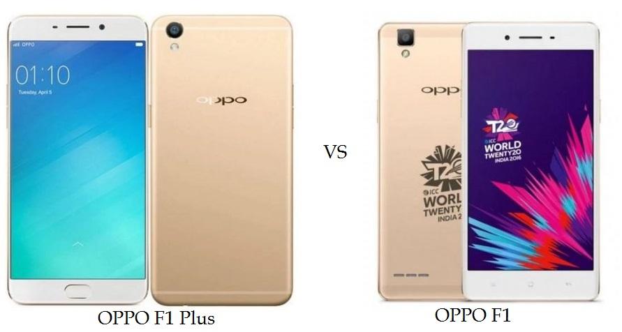 OPPO F1 Plus vs OPPO F1 Comparison
