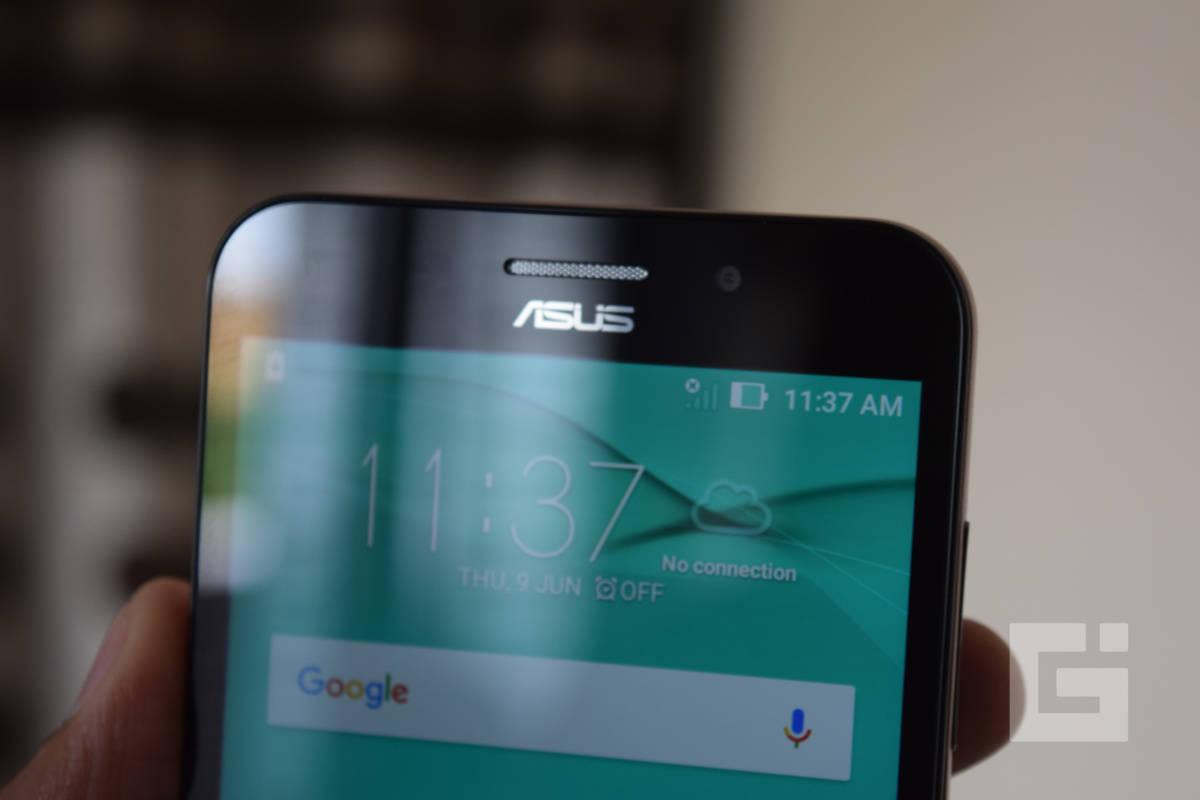 ASUS ZenFone Max Snapdragon 615 Front top