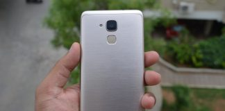 Huawei Honor 5c Review Back