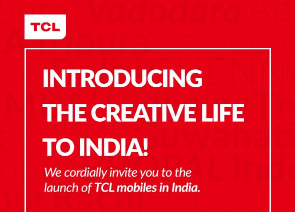 TCL 560 Launch Invite