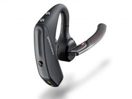 Plantronics Voyager 5200 noise cancelling bluetooth headset