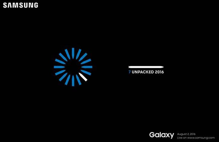 Samsung Galaxy Note 7 launch date