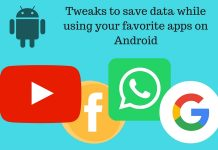 save-data-on-android