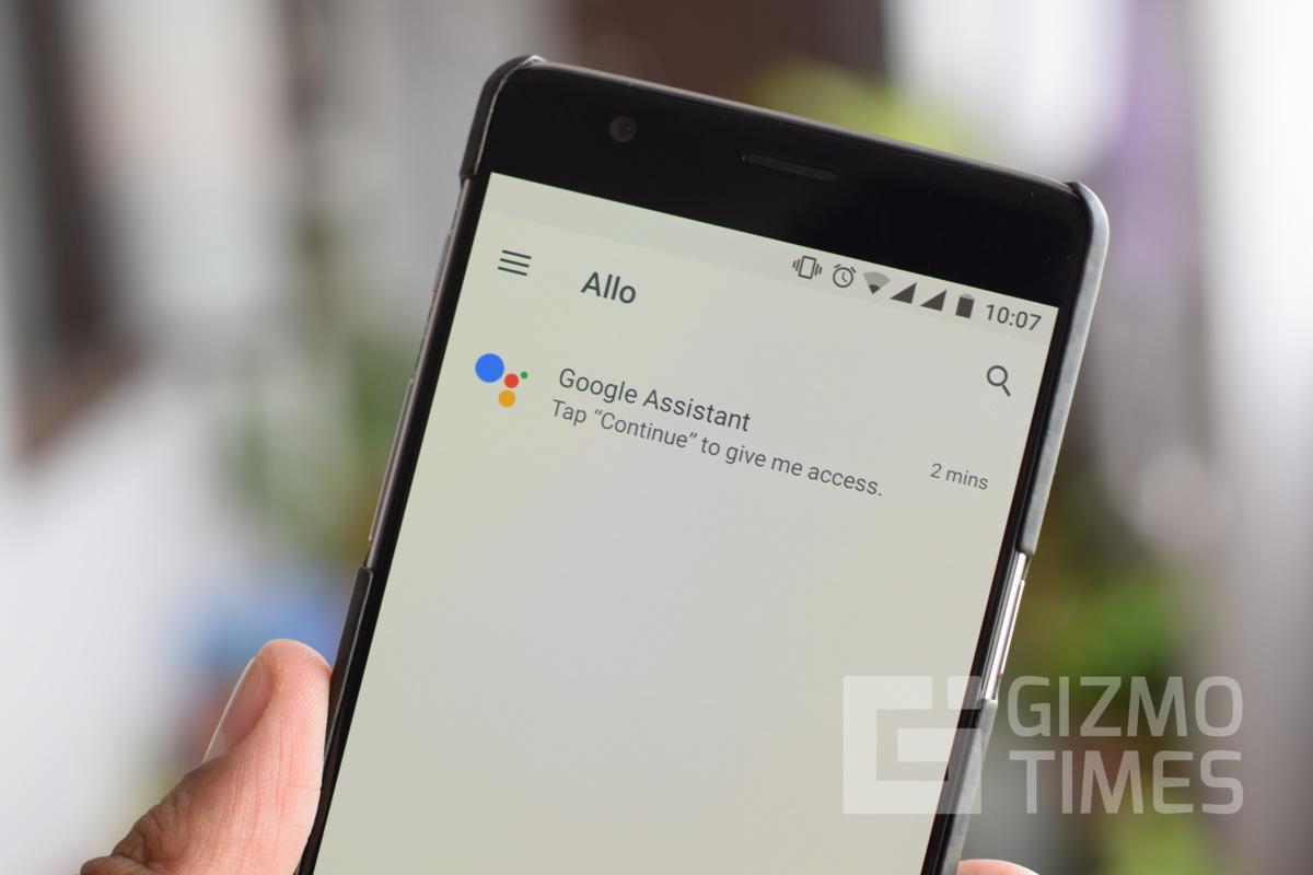 Google Allo Chats