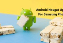 Android Nougat for Samsung