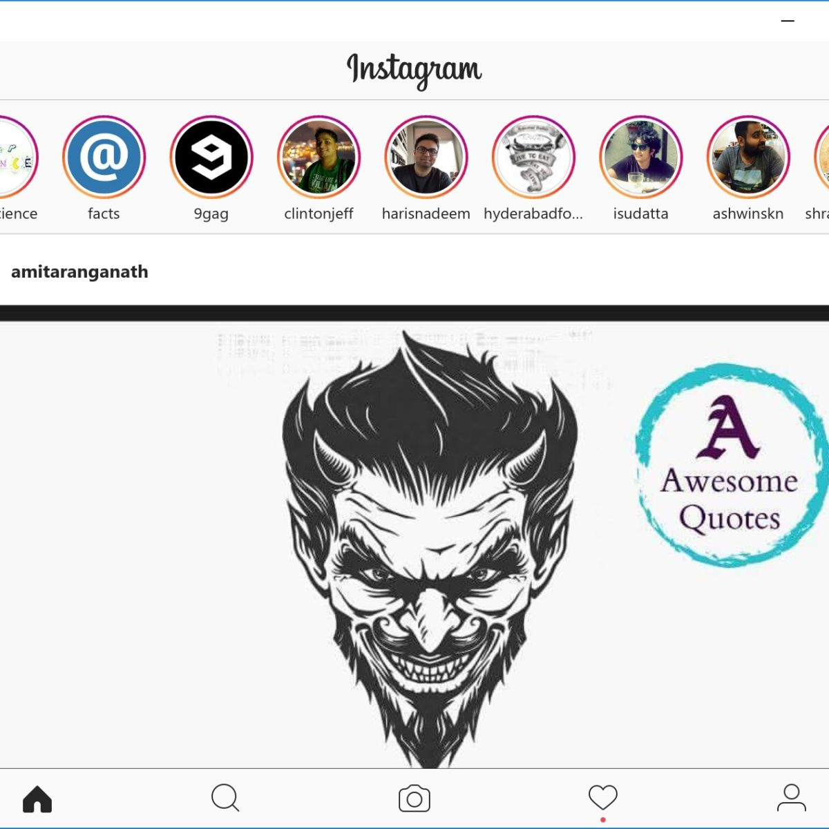 Instagram for Windows 10 PC