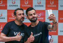 Gionee Virat Kohli brand ambassador