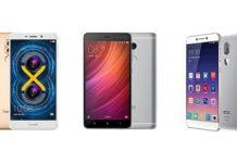 Honor 6x vs Redmi Note 4 vs Cool1 Dual