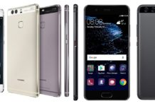 Huawei P9 and P10
