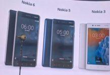 Nokia 6 Nokia 5 Nokia 3