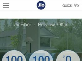 JioFiber Preview Offer 1