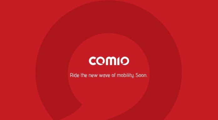 Comio mobile website