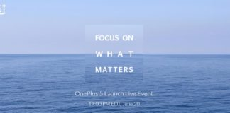OnePlus 5 launch date