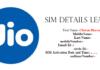 Jio SIM Details Leaked
