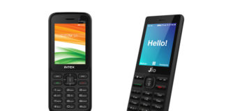 Intex Turbo Plus 4G vs JioPhone