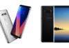 LG V30 vs Galaxy Note8