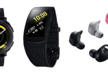 Samsung Gear Sport Fit2 Pro Gear IconX