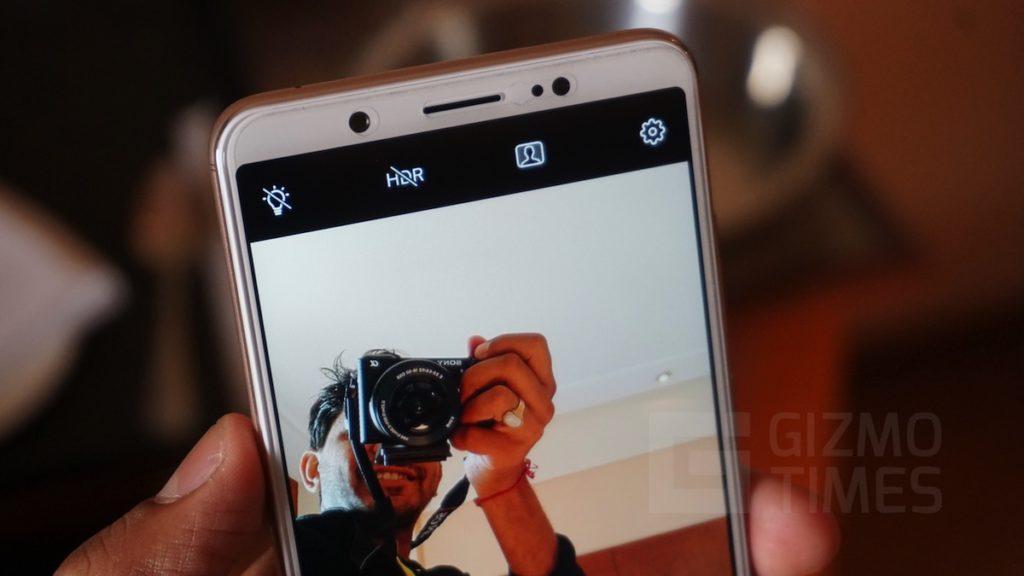Vivo V7+ Front Camera