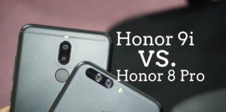 Honor 9i vs Honor 8 Pro Comparison