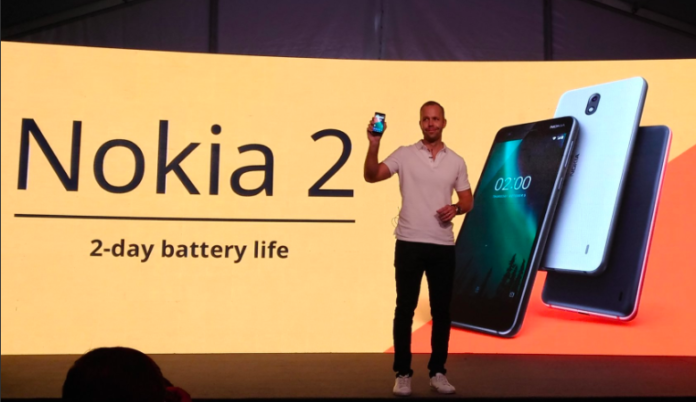 Nokia 2 with two-day battery life announced in India