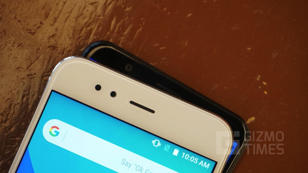 Honor 7x vs Xiaomi Mi A1 Front Cameras
