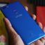 Vivo V7 Energetic Blue Bottom