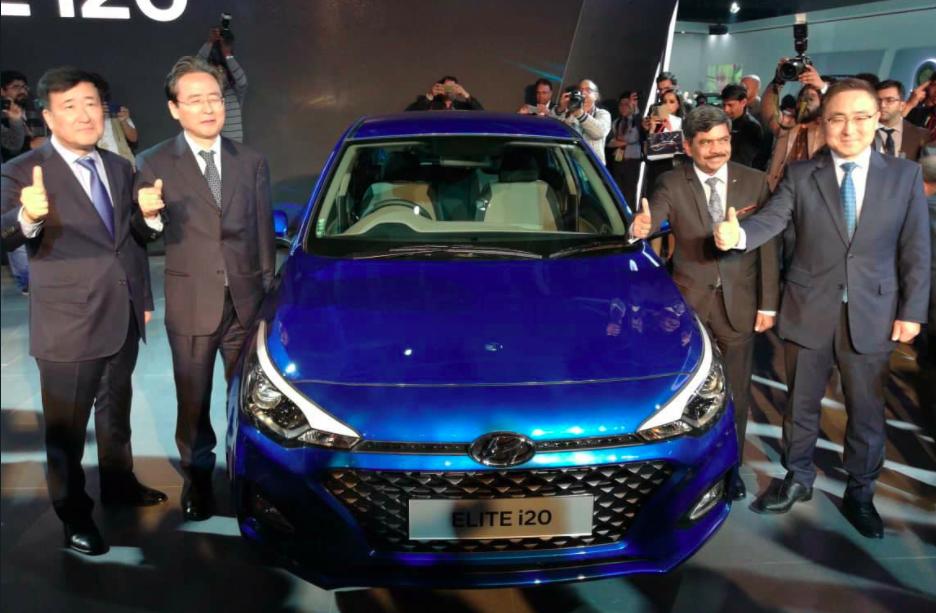 2018 Hyundai Elite i20 facelift launch