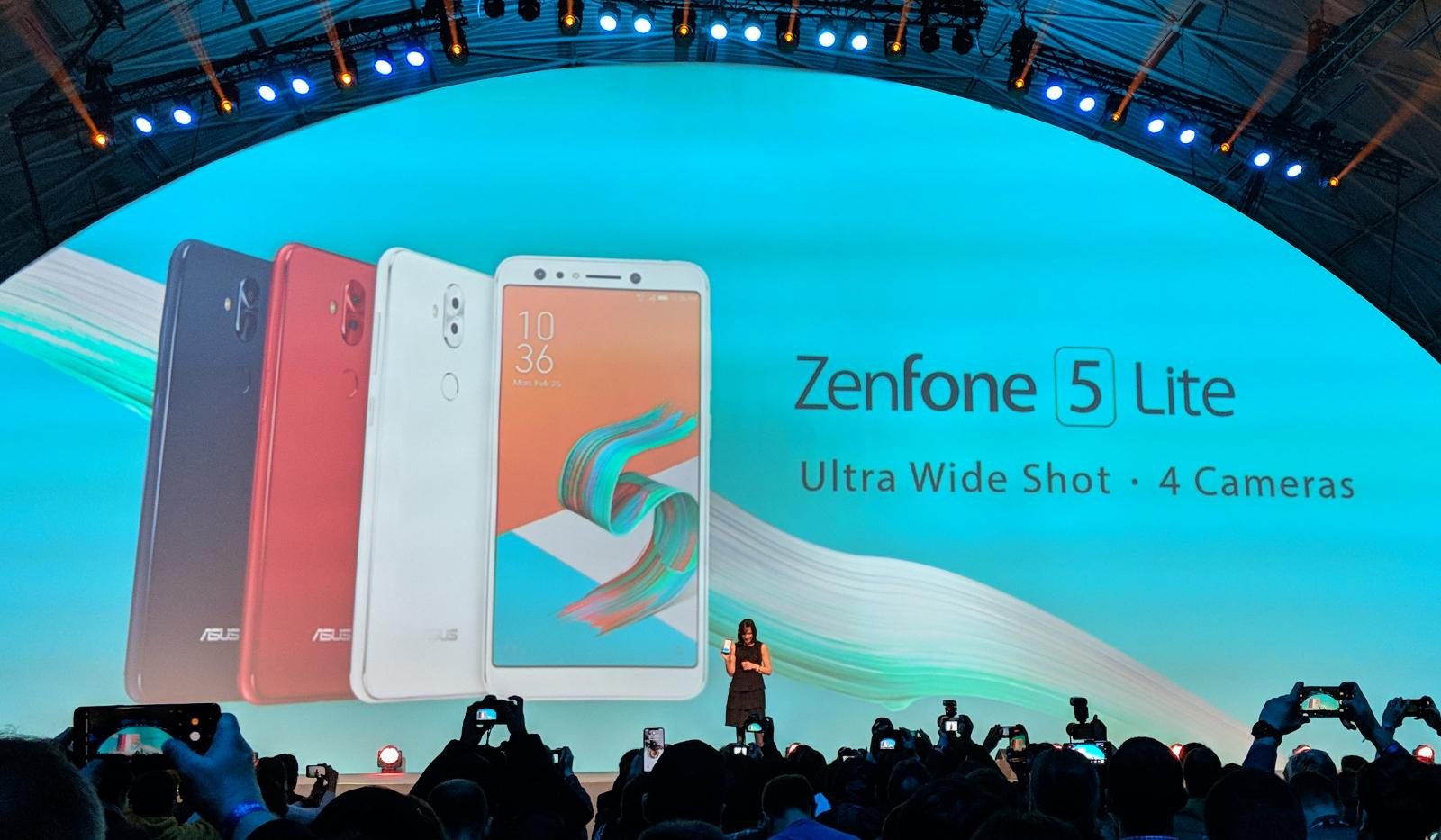 Asus Zenfone 5 Lite With Front And Back Dual Lens Camera