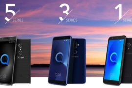 Alcatel 2018 phones