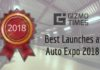 Auto Expo 2018 Best Launches
