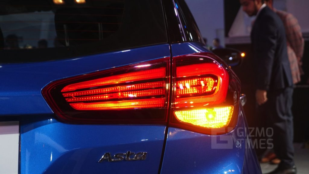 Hyundai Elite i20 Facelift Tail lamp