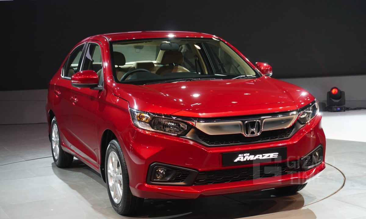 new honda amaze steals the show at auto expo 2018 all you wanted to know. Black Bedroom Furniture Sets. Home Design Ideas