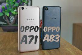 OPPO A71 vs OPPO A83