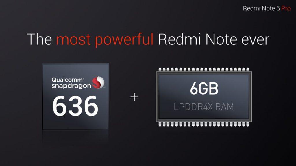 Redmi Note 5 Pro internals