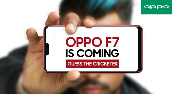 Oppo F7 with display notch teased ahead of March 26 launch