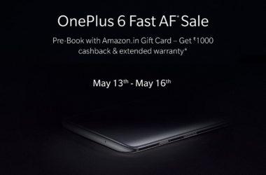 OnePlus Fast AF sale